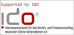 Mitglied im Interessensverband für das Rechts- und Finanzconsulting deutscher Online-Unternehmen e.V.