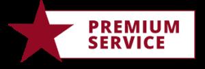 Wir bieten Premium Service