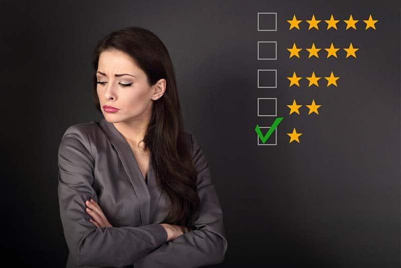 Gefälschte oder ungerechtfertigte Bewertung entfernen